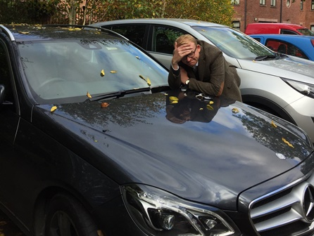 Richard still doesn't know where his AdBlue filler cap is!.....Don't be like Richard